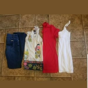 Name Brand Clothes Lot Shirts Small Pants 0s